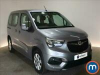 2019 Vauxhall COMBO LIFE 1.5 Turbo D Energy 5dr People Carrier Diesel Manual