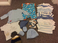 Large bundle (0-3 months 14lb) 36 items