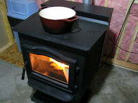 Harman P61A Pellet Stove With Chimney