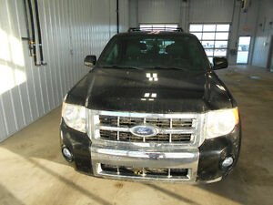 2008 Ford Escape Limited SUV, Crossover, Sask PST Paid