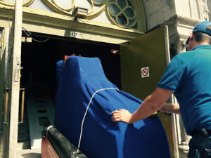 Piano moving in Montreal and area. Starting at 250,00$tx