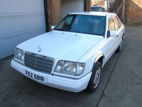 Mercedes-Benz e220 petrol saloon white 1999 private plate classic SWAP PX