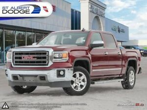 2015 GMC Sierra 1500 SLT  HEATED LEATHER SEATS| TRI FOLD COVER