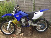 1999 Yamaha yz400f
