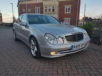 Mercedes E Class E 270 CDI Avantgarde (silver) 2005