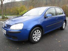 05/54 VOLKSWAGEN GOLF 1.9 TDI SE 5DR HATCH IN MET BLUE WITH VW SERVICE HISTORY