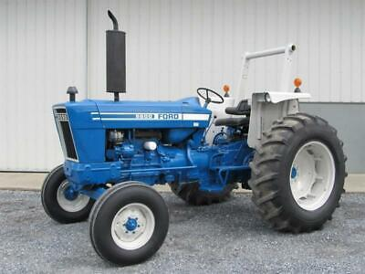 Ford 2600 To 7600 Series Tractors Service Workshop Manual