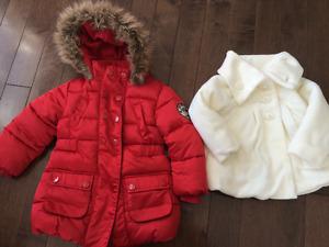 Girls Coats Size 2