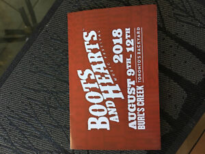 Boots and Hearts 2018 ticket