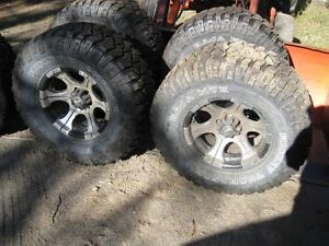 LT 305 70 R 16 Tires and rims for sale