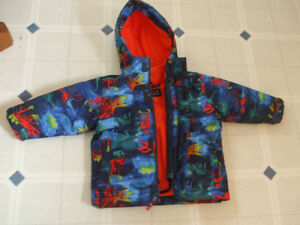 Dinosaur Winter Jacket 12-18m