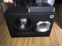 JBL Subwoofer and Amp