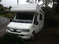 Elddis Autoquest 130, Sleeps 5 with 4 Seat Belts, 2007, 2178cc, Only £19,995