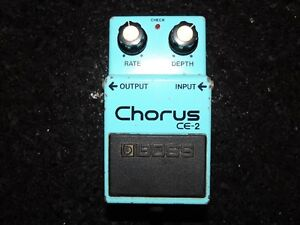 Boss Chorus CE-2 Made in Japan