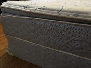 Sealy Posturedic Ensemble Pillow Top Mattress and Box spring London Ontario image 3