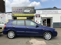 2004 NISSAN ALMERA 1.5 SE LOW 62,000 MILES ( AA ) BREAKDOWN COVER INCLUDED