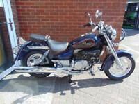 PRE REGISTERED HYOSUNG GV125 AQUILLA - LEARNER LEGAL CRUISER