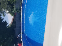 We are looking for someone to put our above ground pool together