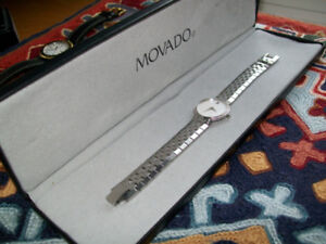 DIAMOND MOVADO / LADIES FACETO LADIES WRISTWATCH