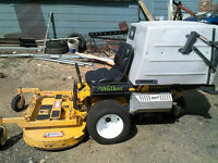 18 hp Walker mower
