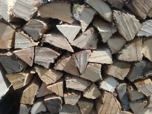 Clean, dry hardwood firewood - free area delivery