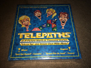TELEPATHS Board Game NEW & SEALED - Team Game for Like Minds
