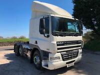 2013 13 DAF CF 85.460 ATe Euro 5, 6x2, sleeper cab unit