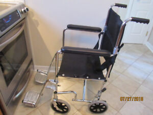 Transportchair,wheelchair, chaise transport, chaise roulante