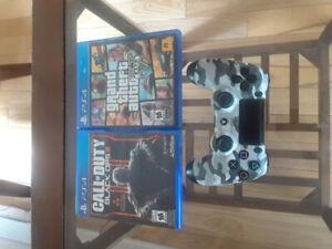 PS 4 et jeux