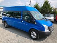Ford TRANSIT 2.2 TDCi 135 6 speed T350 RWD 15 seater 2012 12 reg 2 owners from n
