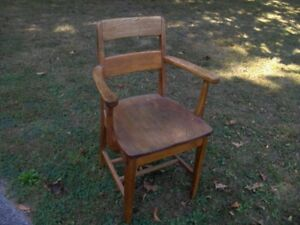 Wooden (Oak) Arm Chair