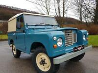 "1979 s3 Land Rover 88"" - 4 CYL Diesel, Fully restored, FAIREY Overdrive"