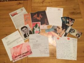ELVIS A GREAT COLLECTION OF 32 AMAZING AND VERY INTERESTING VARIOUS ITEMS