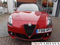 2016 Alfa Romeo Giulietta TBI VELOCE TCT Petrol red Semi Auto