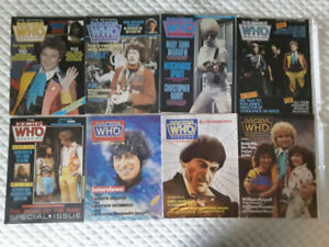 DOCTOR WHO MAGAZINES #96-203