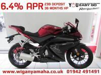 YAMAHA YZF-R125 ABS 6.4% APR FINANCE, ONLY 400 DEPOSIT...