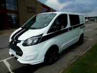 Ford TRANSIT CUSTOM 290, van, conversion, rock and roll bed camper for sale.
