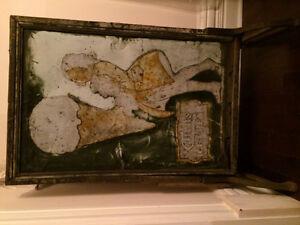 Antique Cairns Ice Cream metal sign Peterborough Peterborough Area image 1