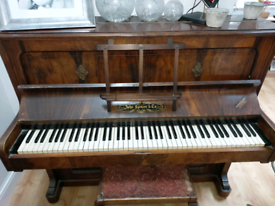 Upright (John Spencer & Co - London) Piano.