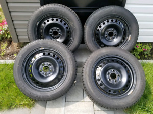 215/55/16 micheline xice3 on ford oem rims 5x108