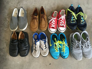 Converse Nike Sneakers youth sizes 2, 2.5, 3, 4 $5-15/pair