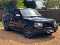 2006 55, Land Rover Range Rover Sport 2.7TD V6 auto HSE + LOW TAX BRACKET