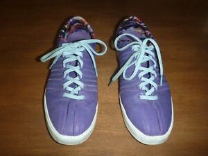 Chaussures mauves K-Swiss gr 9