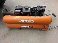 RIGID DUAL TANK 6HP COMPRESSOR REDUCED FROM $600