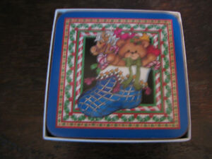 Pimpernel Lucy Rigg Christmas Teddy Bears Coasters, England Kitchener / Waterloo Kitchener Area image 3