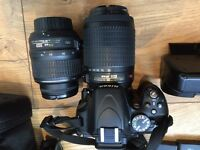 Nikon D5100 + lenses + accessories