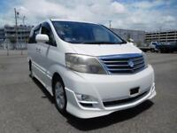 Toyota Alphard 2400cc direct Japan Import supplied fully UK Reg