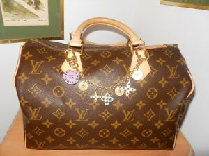 Sac Louis Vuitton Authentique Speedy 30  Handbag / Sacoche