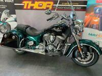 Indian SPRINGFIELD GREEN/BLACK,BRAND NEW,1811cc,£1400 OFF NOW £20999