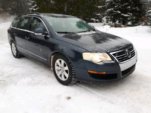 Passat 2007 wagon 0 taxe.equipé 2 L turbo